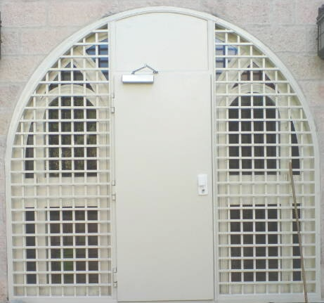 Armored door + arch and grille